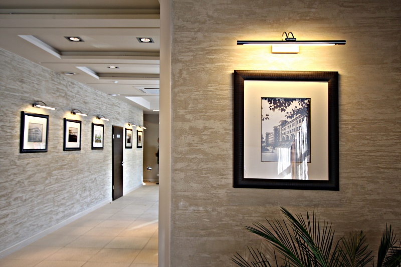 штукатурка декоративная для коридора фото
